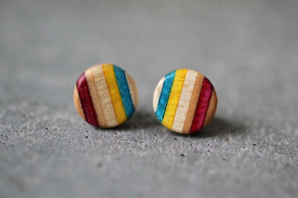 Circle stud earrings from AdrianMartinus